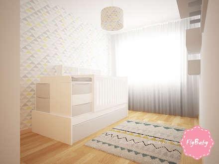 Projeto 3D | Márcia & Artur: Quartos de rapaz  por FlyBaby