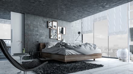industrial Bedroom by Mexikan Curious