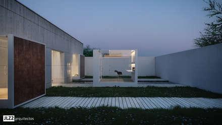 Laghetto da giardino in stile  di JLZ2 arquitectos