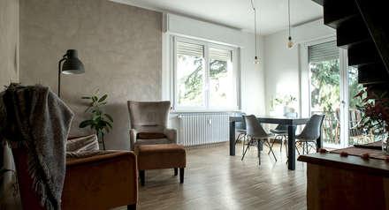 Sweet Home Forlì: Sala da pranzo in stile in stile Moderno di Arkinprogress