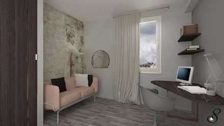 Villa Petra: Studio in stile in stile Moderno di Serena Scaioli
