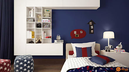 Boys Bedroom by Art-i-Chok