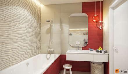 Дизайн детского санузла: Ванные комнаты в . Автор – Art-i-Chok