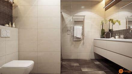 Идеи дизайна ванной в пастельных тонах: Ванные комнаты в . Автор – Art-i-Chok