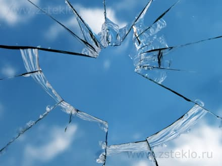 Замена разбитого стекла : Полы в . Автор – Zстекло