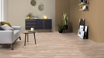 Паркетная доска Shade Oak Satin White TreS дизайн: Полы в . Автор – TED-SHOWROOM