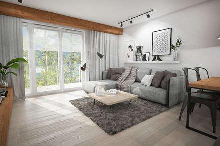 ห้องนั่งเล่น by Studio Archemia