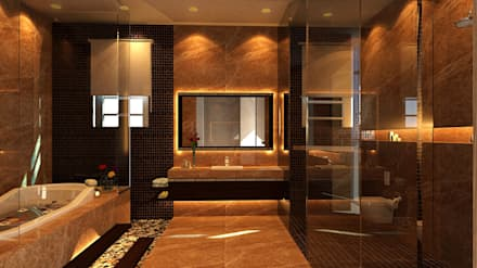 Villa: Classic Bathroom By SPACES Architects Planners Engineers