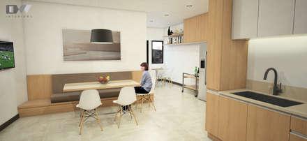 Nook Area: minimalistic Kitchen by DW Interiors