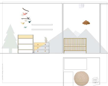 Babyzimmer Einrichtung:  Babyzimmer von Interior Design Solutions By Imma Galiana