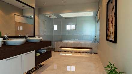 Bathroom: mediterranean Bathroom by SPACES Architects Planners Engineers