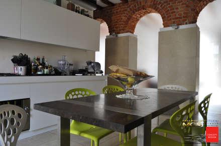 Appartamento privato 12: Cucina in stile In stile Country di MELLINACORTISTUDIO