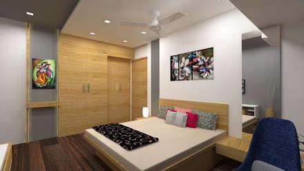 Bhatt's Residence: asian Bathroom by Midas Dezign
