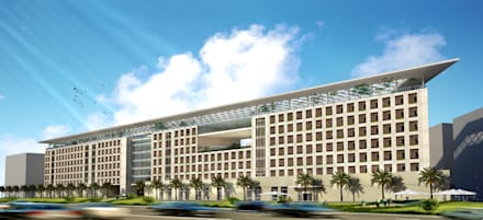 Hotel in Jeddah:  Hotels by SPACES Architects Planners Engineers