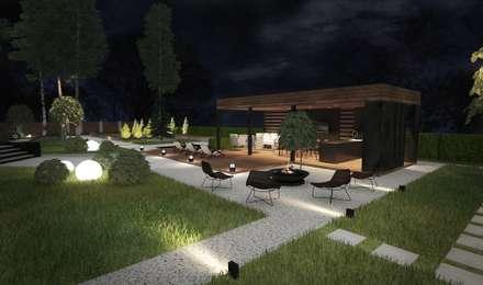 Частный проект загородного дома: Загородные дома в . Автор – insdesign II