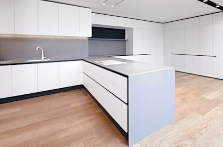 Pembroke Gardens Close W8: Minimalistic Kitchen By Kuche Design