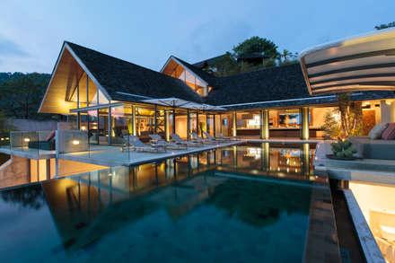 Villa Saengootsa : modern Houses by Original Vision
