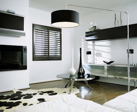 Dinning Room Shutters: classic Dining room by S:CRAFT