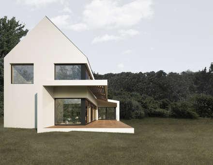 HAUS LYR:  Einfamilienhaus von AL ARCHITEKT