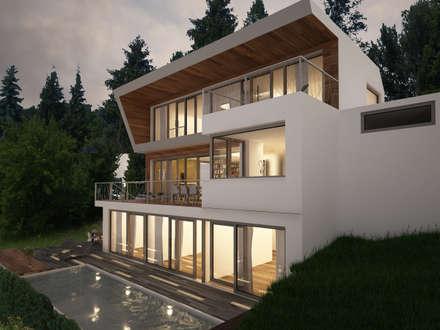 HAUS WKL:  Einfamilienhaus von AL ARCHITEKT