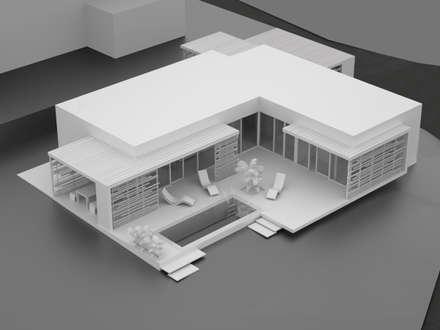 HAUS KLB: moderne Häuser von AL ARCHITEKT