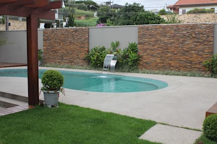 泳池 by Camila Tiveron Arquitetura
