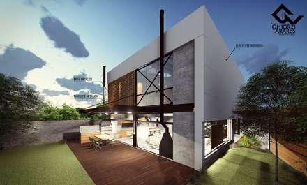 Nhà thép tiền chế by GhiorziTavares Arquitetura