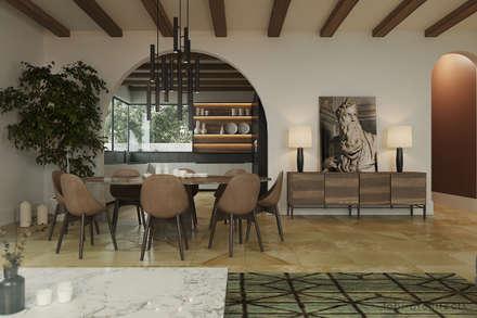 Minimalistische Wohnzimmer Von Tobi Architects