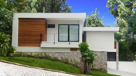 CASA OW: Casas modernas por Cláudio Maurício e Paulo Henrique