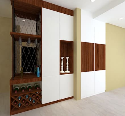 asian Wine cellar by homify