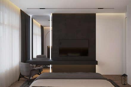 Silence: Спальни в . Автор – U-Style design studio