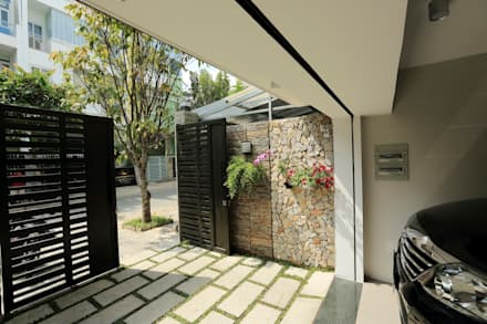Terrazas de estilo  por Công ty TNHH Xây Dựng TM DV Song Phát