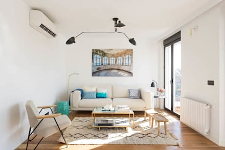 fotografa interiores salones de estilo escandinavo de caballero fotografa de arquitectura inmobiliaria e interiorismo - Interiorismo Salones