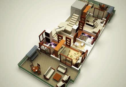 Multi-Family house by KÜÇÜKTAŞ MÜHENDİSLİK İNŞAAT