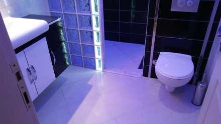 Damla Yapı Teknik – BANYO DEKORASYON: modern tarz Banyo