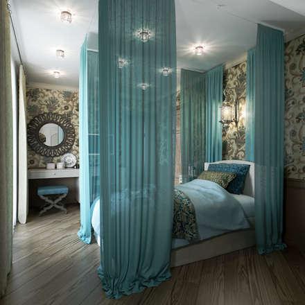 Спальня дочери: Спальни в . Автор – EJ Studio