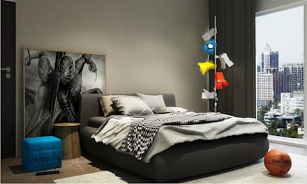 Children's room: minimalistic Bedroom by  Ashleys