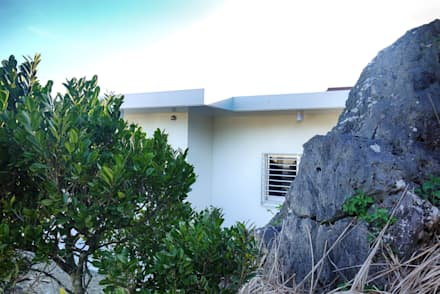 東側外観: 株式会社青空設計が手掛けた一戸建て住宅です。