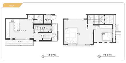 영월 운학리: 코원하우스의  바닥