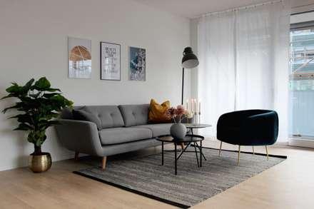 Skandinavische wohnzimmer ideen inspiration und bilder for Wohnzimmer nordisch