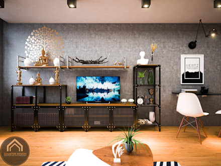 Phòng khách by Diameter Design