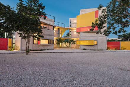 Condominios de estilo  por Duarte Aznar Arquitectos