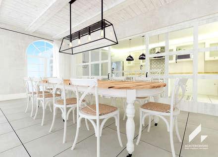 Comedor: Comedores de estilo mediterráneo de AG INTERIORISMO