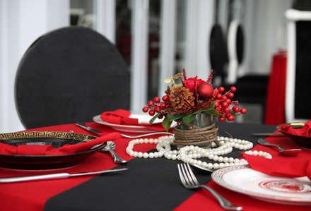 Trang trí bàn ăn:  Bếp xây sẵn by Công ty TNHH Xây Dựng TM DV Song Phát