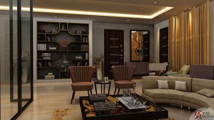 Phòng khách by MAD DESIGN