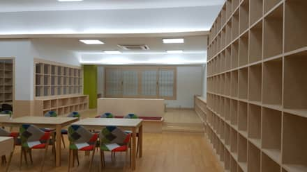 Oficinas de estilo  por 담음건축디자인주식회사