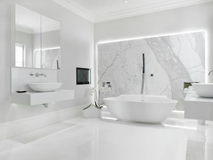 Case Study: New Lodge, Fulham: Modern Bathroom By BathroomsByDesign Retail  Ltd
