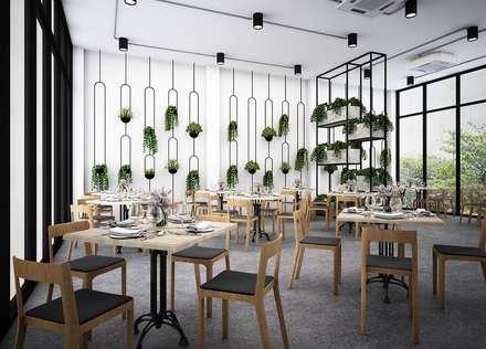 :  ห้องทานข้าว by Zero field design studio