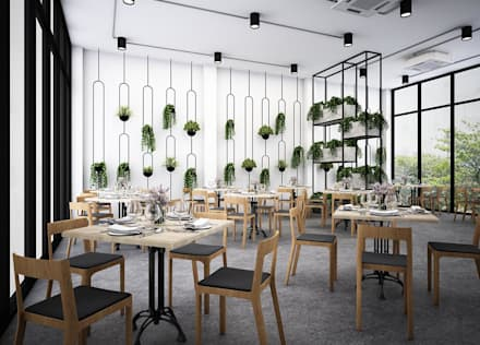 Phòng ăn by Zero field design studio