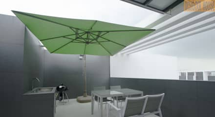 Roof Top: modern Garden by Designer House